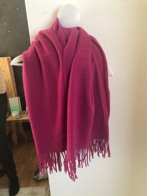 Drykorn Wollen sjaal roze