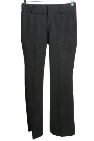 Drykorn Pantalon pattes d'éléphant gris clair-noir imprimé allover