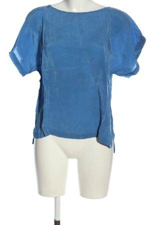 Drykorn Schlupf-Bluse blau Casual-Look