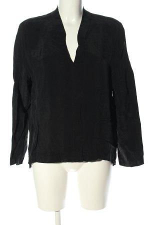 Drykorn Schlupf-Bluse schwarz Casual-Look