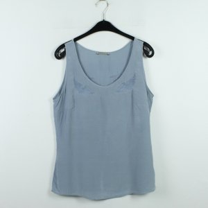 Drykorn Seidenbluse Gr. 40 blau (20/01/074)