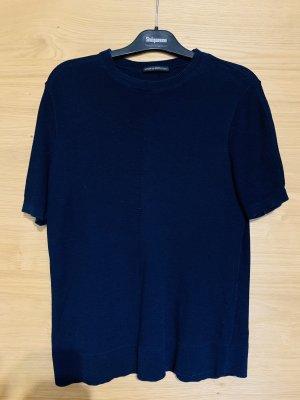 Drykorn Crochet Shirt dark blue