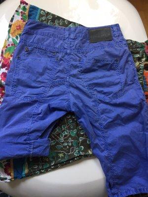 Drykorn Short s 36 blau Damen Baumwolle