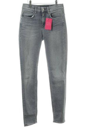 Drykorn Skinny Jeans hellgrau Casual-Look