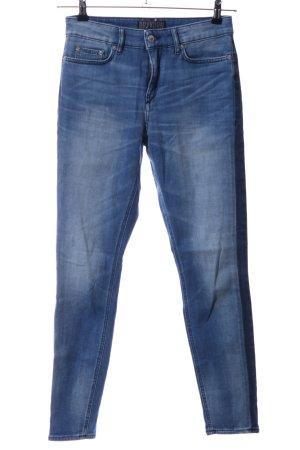 Drykorn Skinny Jeans blau Casual-Look