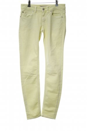 Drykorn Skinny Jeans blassgelb Casual-Look