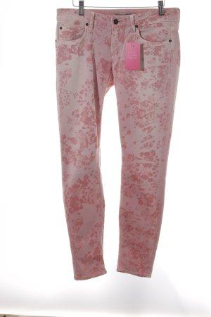 Drykorn Skinny Jeans Blumenmuster Casual-Look