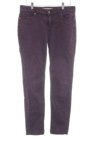 Drykorn Skinny Jeans brombeerrot Casual-Look
