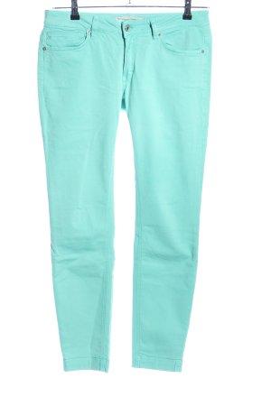 Drykorn Skinny Jeans türkis Casual-Look