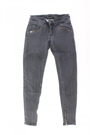 Drykorn Skinny Jeans Größe 36 grau aus Baumwolle