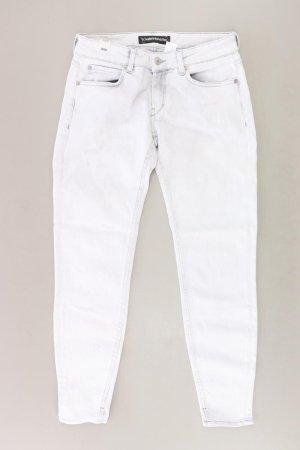 Drykorn Skinny Jeans Größe W28/L34 weiß aus Baumwolle