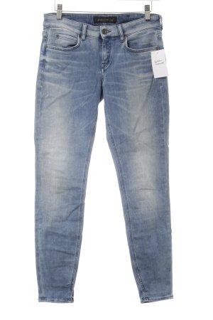 Drykorn Skinny Jeans himmelblau-kornblumenblau Casual-Look