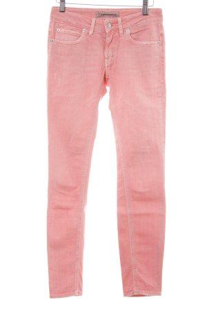 Drykorn Jeansy o obcisłym kroju różowy W stylu casual