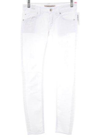 Drykorn Skinny Jeans weiß Casual-Look