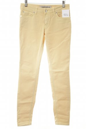 Drykorn Slim Jeans blassgelb Casual-Look