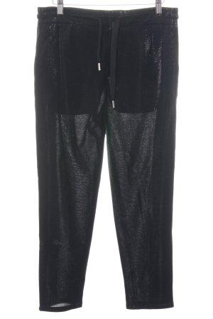 Drykorn Sporthose schwarz extravaganter Stil
