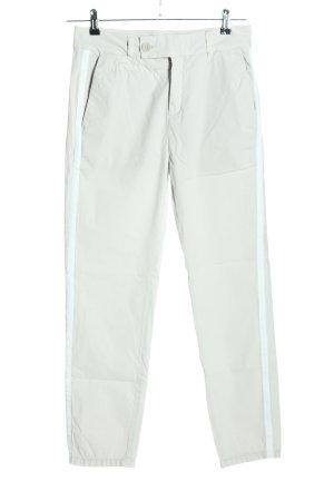Drykorn Spodnie materiałowe biały-jasnoszary W stylu casual