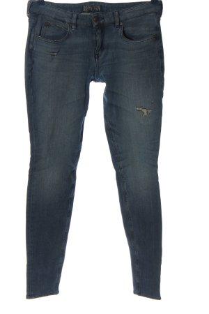 Drykorn Jeansy z prostymi nogawkami niebieski W stylu casual