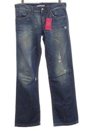Drykorn Jeansy z prostymi nogawkami ciemnoniebieski Jeansowy wygląd