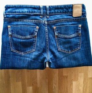 Drykorn Jeansy z prostymi nogawkami niebieski