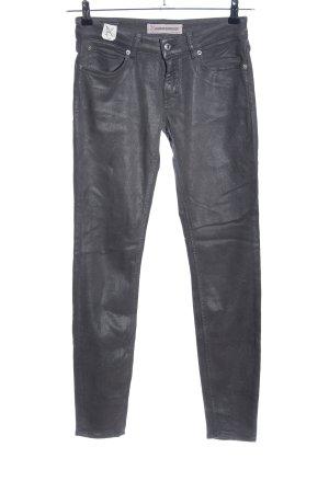 Drykorn Stretchhose schwarz Casual-Look