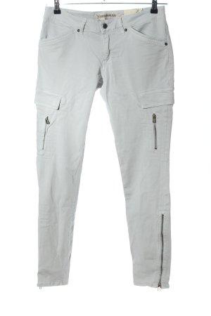 Drykorn Pantalone elasticizzato grigio chiaro stile casual
