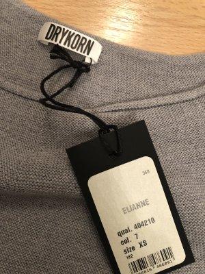Drykorn Strick Kleid Pullover grau Gr XS