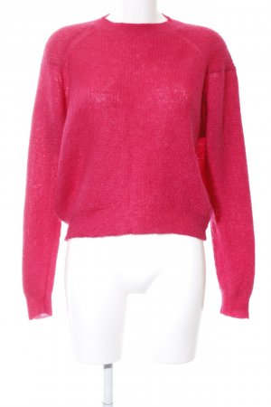Drykorn Strickpullover rot Business-Look