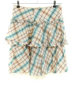 Drykorn Warstwowa spódnica Wzór w kratkę W stylu casual