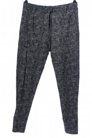 Drykorn Sweat Pants light grey-white abstract pattern casual look