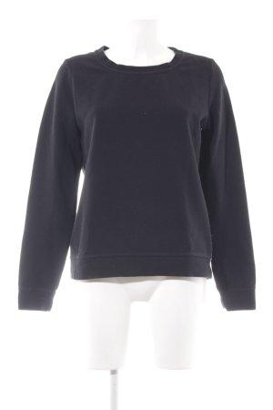 Drykorn Sweatshirt schwarz Casual-Look