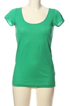 Drykorn T-Shirt grün Casual-Look