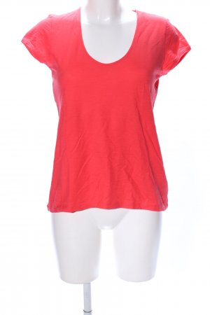 Drykorn T-shirt rosso stile casual