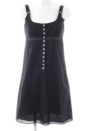 Drykorn Trägerkleid schwarz Vintage-Look