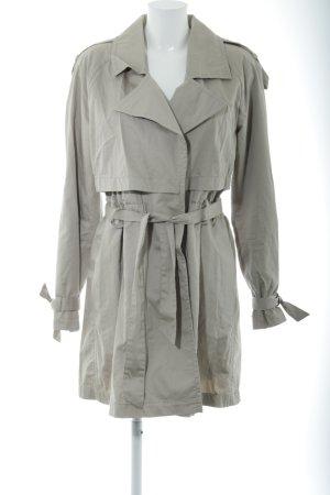 Drykorn Trenchcoat hellgrau Casual-Look