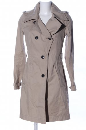 Drykorn Trenchcoat wollweiß Casual-Look