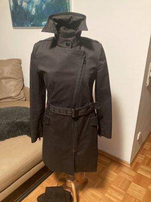 Drykorn Trenchcoat Mantel Gr M schwarz