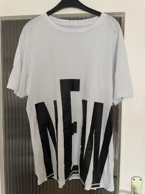 Drykorn Camicia oversize grigio chiaro-nero