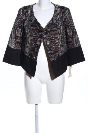 Drykorn Tweedblazer schwarz-bronzefarben Karomuster Casual-Look
