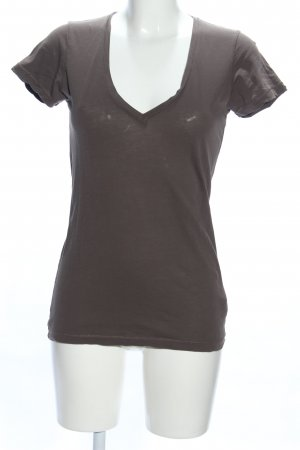 Drykorn V-Neck Shirt brown casual look