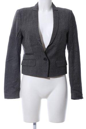 Drykorn Woll-Blazer hellgrau Webmuster Business-Look