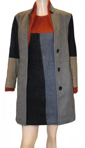 DRYKORN Woll Mantel und Kleid Gr. 34