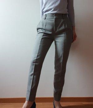 Drykorn for beautiful people Woolen Trousers light grey-grey