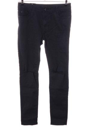 Stretch broek zwart casual uitstraling