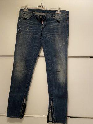 Dsquared2 Jeans slim bleu foncé