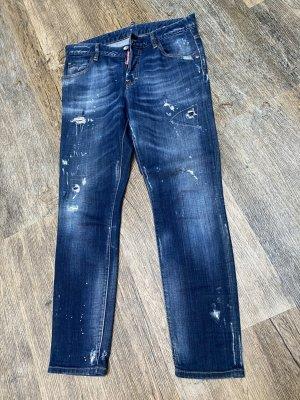 Dsquared2 Jeans vita bassa blu
