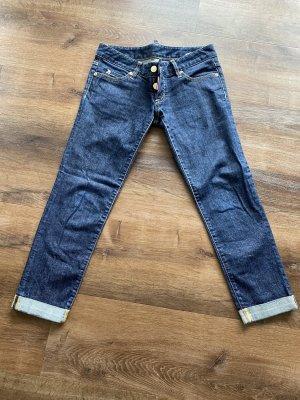Dsquared 3/4 Length Jeans dark blue