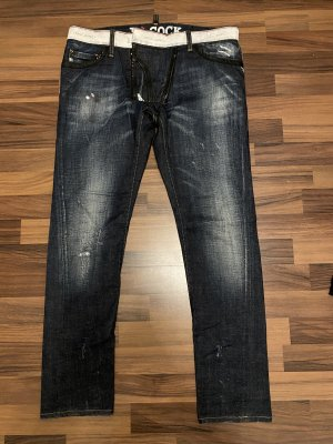 Dsquared2 Jeans taille basse multicolore
