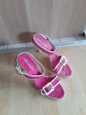 Dsquared sandale pink gr. 40 Neu!!