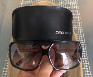 Dsquared2 Bril zwart-donkerrood